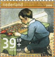 Nederland NL 2418a  2006 Leesplankje 39+19 cent  Gestempeld