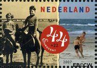 Nederland NL 2497c  2007 Strandpret toen en nu 44+22 cent  Gestempeld