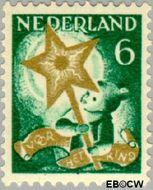 Nederland NL 263  1933 Drie-koningenfeest 6+4 cent  Gestempeld