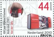 Nederland NL 2701  2010 Rijksoctroowet 44 cent  Gestempeld