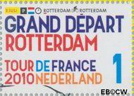 Nederland NL 2721  2010 Tour de France 1 cent  Gestempeld