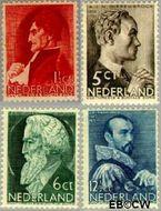 Nederland NL 274#277  1935 Bekende personen   cent  Gestempeld
