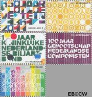 Nederland NL 2816#2820  2011 Jubilea  cent  Gestempeld