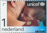 Nederland NL 2829  2011 UNICEF 65 jaar 1 cent  Gestempeld