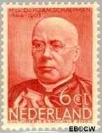 Nederland NL 285  1936 Bekende personen 6+4 cent  Gestempeld