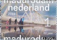 Nederland NL 2933  2012 Madurodam 60 jaar 1 cent  Gestempeld