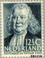 Nederland NL 309  1938 Bekende personen 12½+3½ cent  Gestempeld
