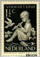 Nederland NL 313  1938 Kind en muziek 1½+1½ cent  Postfris