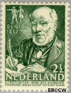 Nederland NL 351  1940 Bekende personen 2½+2½ cent  Gestempeld