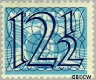 Nederland NL 360  1940 Cijfer type 'Guilloche' of ' tralie' 12½ cent  Gestempeld