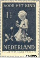 Nederland NL 374  1940 Kind met bloemen 1½+1½ cent  Postfris