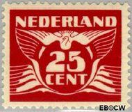 Nederland NL 388  1941 Vliegende Duif 25 cent  Gestempeld