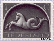 Nederland NL 405  1943 Germaanse symbolen 1 cent  Postfris