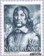 Nederland NL 420  1943 Zeehelden 30 cent  Gestempeld