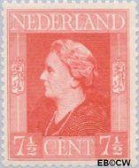Nederland NL 432  1944 Bevrijding 7½ cent  Postfris