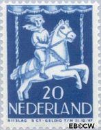 Nederland NL 473  1946 Kind in draaimolen 20+5 cent  Gestempeld