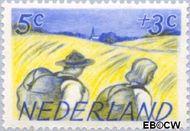 Nederland NL 514  1949 Zomermotieven 5+3 cent  Gestempeld