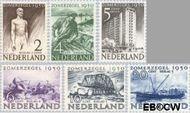 Nederland NL 550#555  1950 Wederopbouw   cent  Postfris