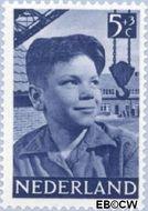 Nederland NL 574  1951 Foto's van kinderen 5+3 cent  Gestempeld