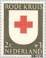 Nederland NL 607  1953 Rode Kruis 2+3 cent  Gestempeld