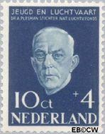 Nederland NL 648  1954 Nationaal Luchtvaartfonds 10+4 cent  Gestempeld