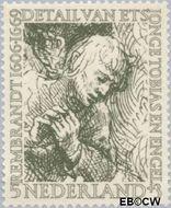Nederland NL 672  1956 Rembrandt 5+3 cent  Gestempeld