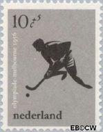 Nederland NL 679  1956 Olympische Spelen- Melbourne 10+5 cent  Postfris