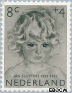 Nederland NL 704  1957 Meisjesportretten 8+4 cent  Gestempeld