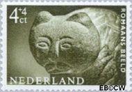 Nederland NL 766  1962 Museumvoorwerpen 4+4 cent  Gestempeld