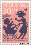 Nederland NL 806  1963 Kinderrijmpjes 30+9 cent  Gestempeld