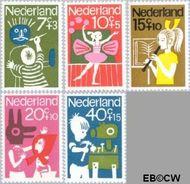 Nederland NL 830#834  1964 Hobby's  cent  Gestempeld