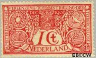 Nederland NL 84  1906 Tuberculosebestrijding 1+1 cent  Gestempeld
