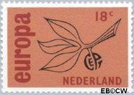 Nederland NL 847  1965 C.E.P.T.- Vrucht 18 cent  Postfris