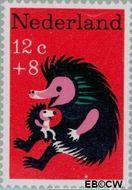 Nederland NL 894  1967 Kinderversjes 12+8 cent  Gestempeld