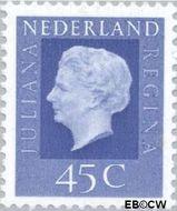 Nederland NL 944  1969 Koningin Juliana- Type 'Regina' 45 cent  Gestempeld