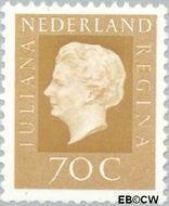 Nederland NL 948  1969 Koningin Juliana- Type 'Regina' 70 cent  Postfris