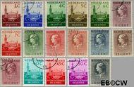 Nederland NL D27#D43  1951 Cour Internationale de Justice  cent  Gestempeld