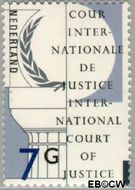 Nederland NL D58  1989 Cour Internationale de Justice 700 cent  Gestempeld