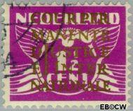 Nederland NL D9  1934 Cour Permanente de Justice 1½ cent  Gestempeld