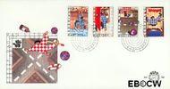 Nederland NL E162  1977 Gevaren voor het kind  cent  FDC zonder adres