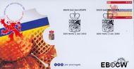 Nederland NL E468  2002 Provincie- zegel Limburg  cent  FDC zonder adres