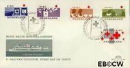Nederland NL E58  1963 Rode Kruis   cent  FDC zonder adres