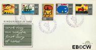 Nederland NL E76  1965 Kindertekeningen  cent  FDC zonder adres