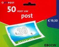 Nederland NL HB2061b  2002 Vijftig voor uw post 39 cent  Postfris