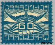 Nederland NL LP3  1921 Luchtrecht 60 cent  Gestempeld
