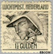 Nederland NL LP6  1929 Luchtrecht 150 cent  Gestempeld