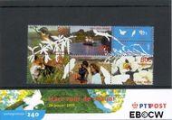 Nederland NL M240  2001 Vijf keer hart voor de natuur  cent  Postfris