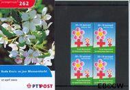 Nederland NL M262  2002 Rode Kruis  cent  Postfris