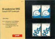Nederland NL M7  1982 C.E.P.T.- Historische gebeurtenissen  cent  Postfris