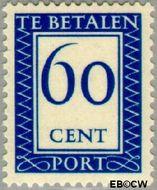 Nederland NL P101  1947 Portzegel 60 cent  Gestempeld